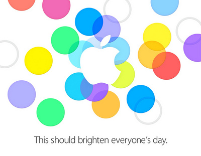Apple Special Event 2013 This should brighten everyone's day